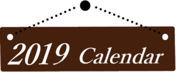 2019カレンダーバナー