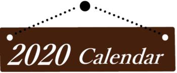 2020カレンダーバナー